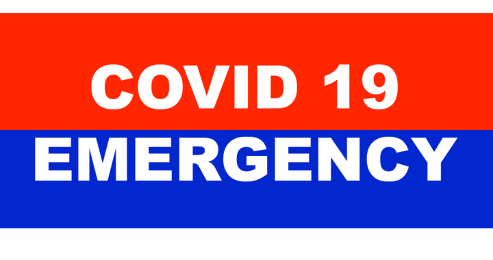 Covid 19 National Emergency logo